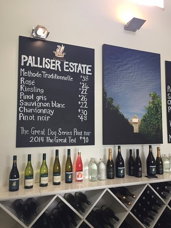 Martinborough, New Zealand: Tastings for $5!