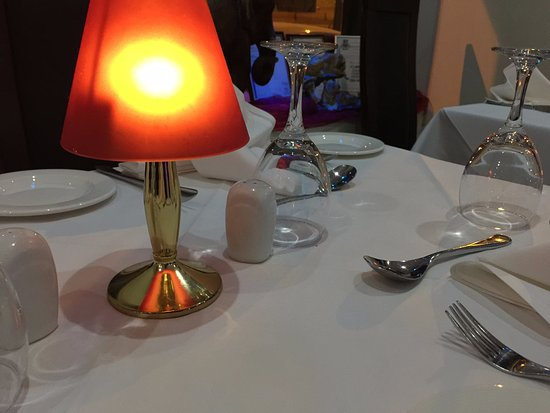 Sheen, UK: Table Layout