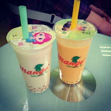 Mango tea shop