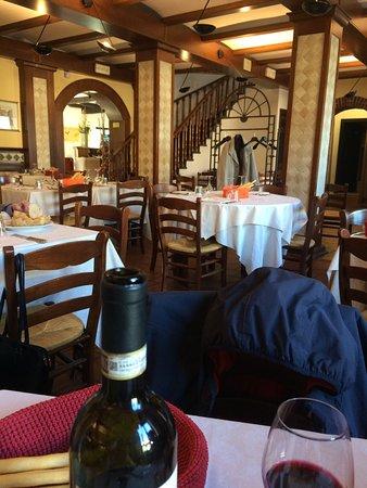 Le portate del mio ottimo pranzo consumato al ristorante La Cascata il giorno del l'Immacolata 2