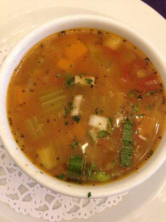 Bumpkin's Restaurant: Minestrone soup