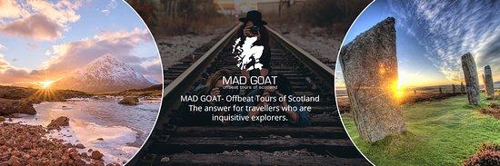MAD GOAT Offbeat Tours of Scotland