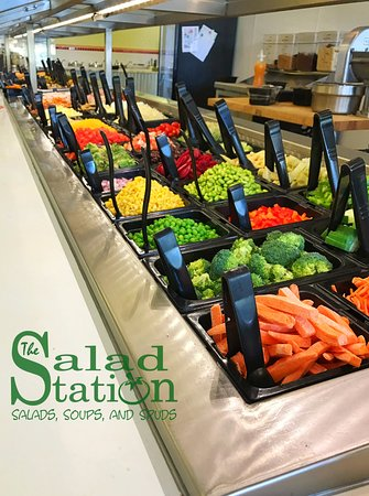 Hammond, LA: Self Serve Salad bar with over 100 toppings to choose from