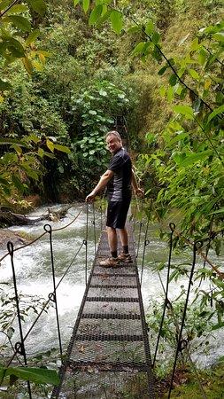 San Gerardo de Dota, Costa Rica: This was scary!