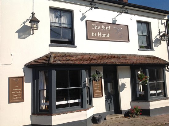 Earls Colne, UK: Front of The Bird In Hand