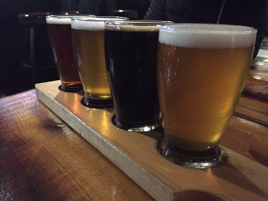 Flight at JAFB (Wooster Brewing Company)