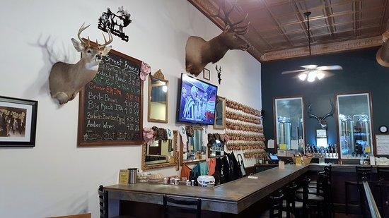 Sandusky, Μίσιγκαν: Elk Street 'wall decor'!