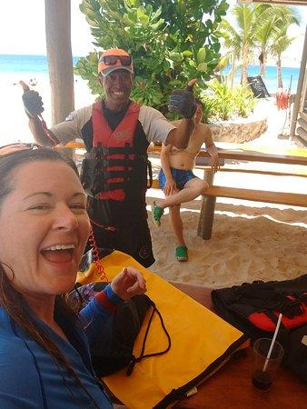 Viti Levu, Fiji: Meesha one of our guides - so much fun!