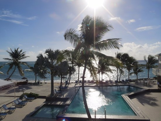 Divi Carina Bay All Inclusive Beach Resort: the view from our room