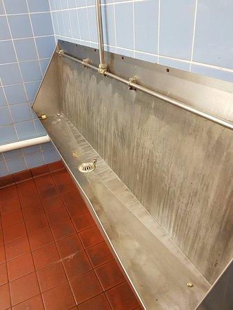 Ivybridge, UK: 2nd dirty urinal