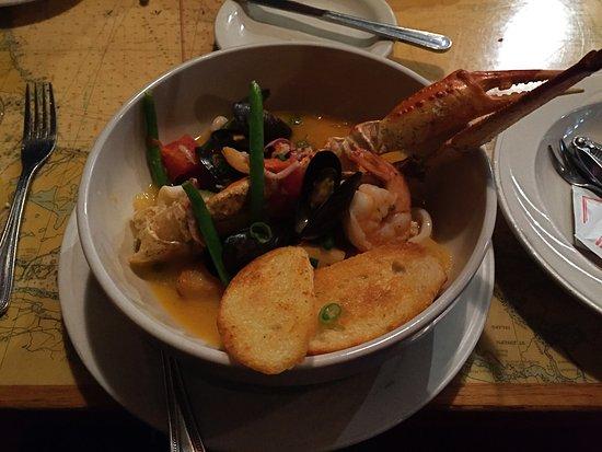 Lily's Seafood: Wonderful Bouillabaisse! (split portion)