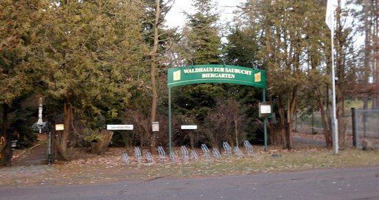 """Wansdorf, Germania: Die """"Saubucht"""" liegt abseits von Marwitz inmitten des Waldes. Zufahrt kompliziert."""