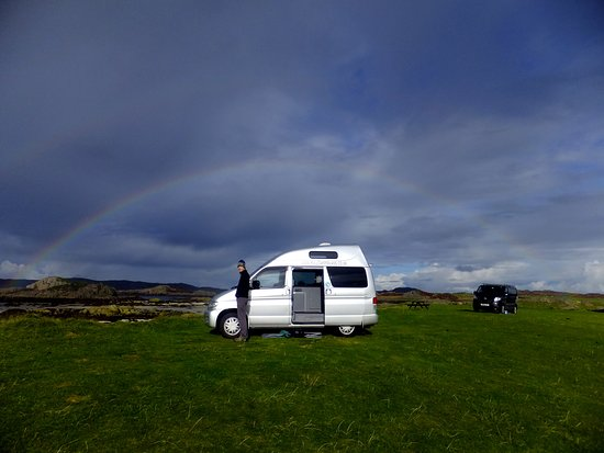 Craignure, UK: Rainbow!