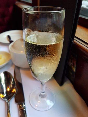 South Melbourne, أستراليا: glass of champagne