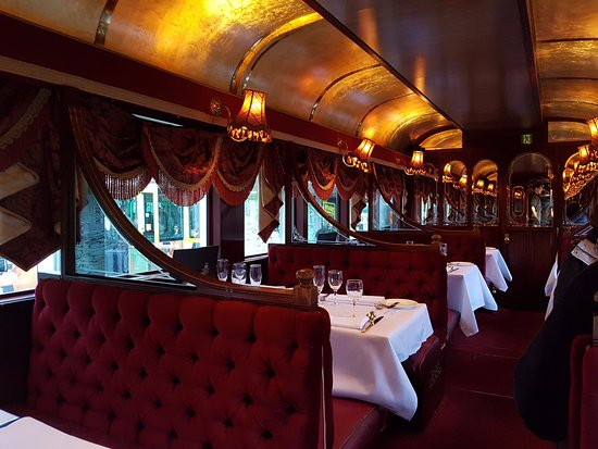 South Melbourne, Australia: the interior of the carriage