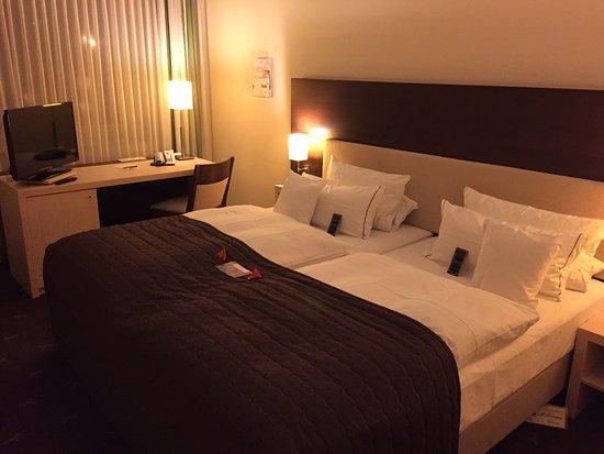 Hotel Esplanade: Diesmal war mein Zimmer groß, modern und geräumig.