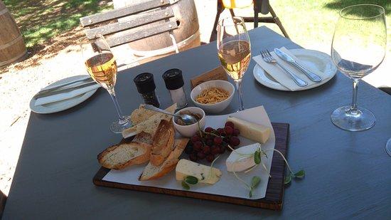 Constantia, Sudafrica: Degustação de queijos