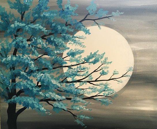 Washington, IL: Blue Moon