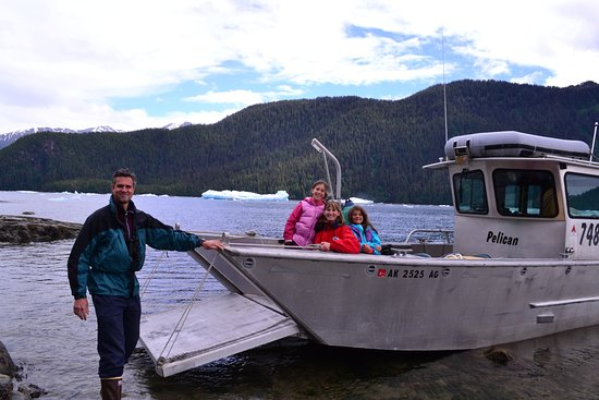 Petersburg, AK: The Pelican makes beachcombing or loading gear easy.