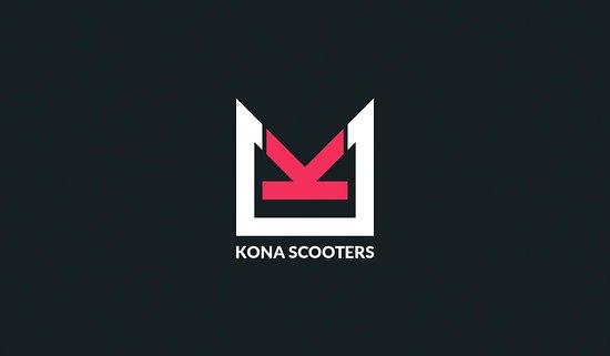 Holualoa, Hawái: Kona Scooters Logo