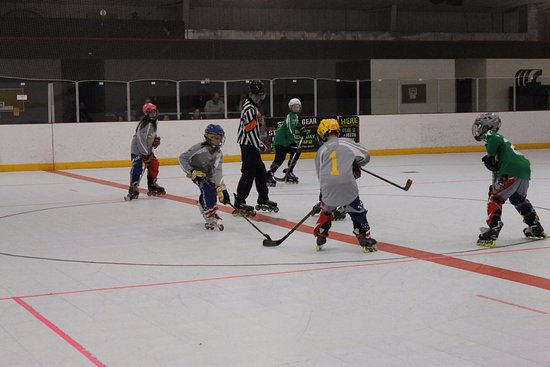 Denton, TX: Youth League Hockey! Always fun to watch!