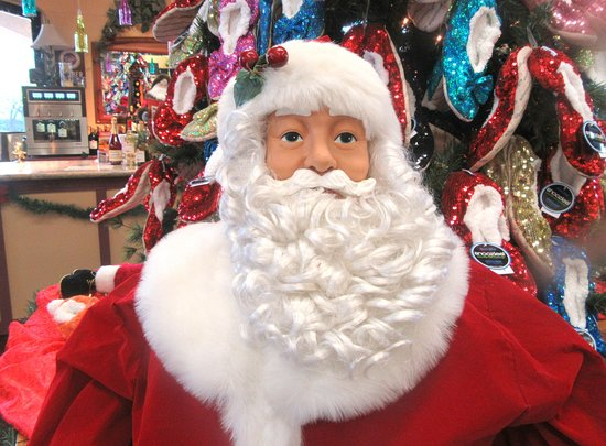 Santa, Casa de Wine Holidays December 2016, Casa de Fruta, Hollister, Ca