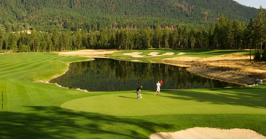 Chase, Canadá: Award wining Talking Rock Golf Resort