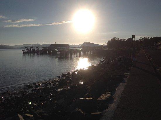Sunrise over Paihia Harbor