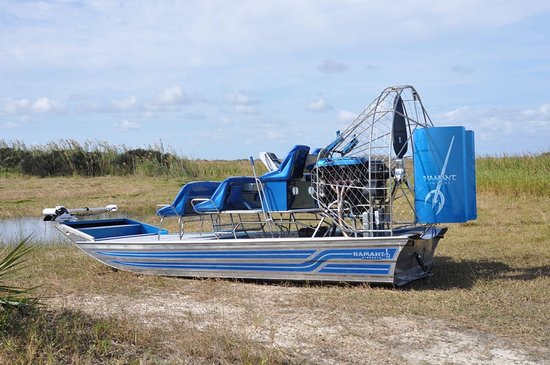 Satellite Beach, FL: Our Hamant Custom Airboat