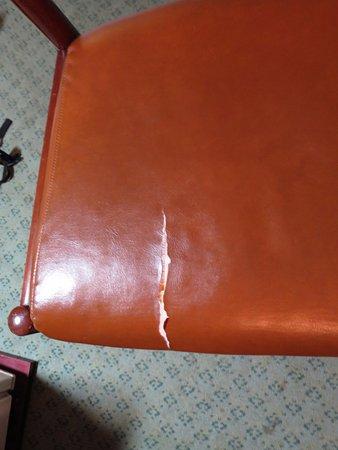 Hotel Satoh Tokyo: くたびれた椅子 実用上は問題ないですけど