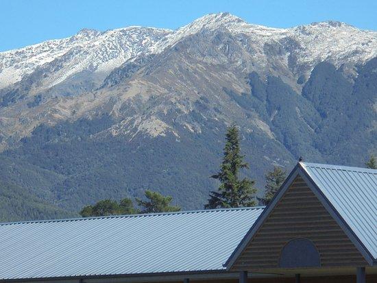 Hanmer Springs, Nueva Zelanda: view of mountains.