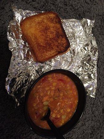 Andalusia, AL: Grilled cheese and soup