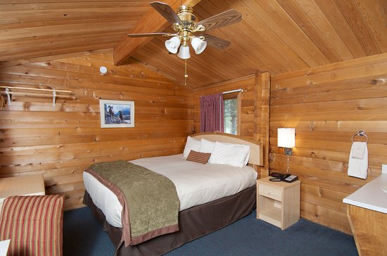Denali Cabins: Handicap accessible room