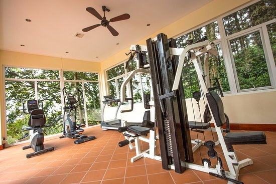 Gym room picture of victoria sapa resort and spa