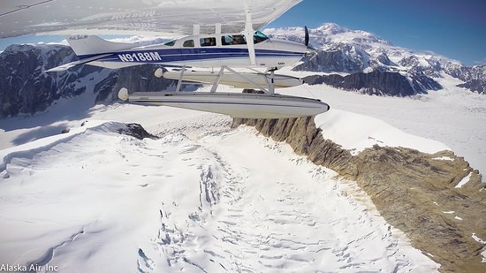 Alaska Bush Float Plane Service: Flight Seeing Tour Denali National Park