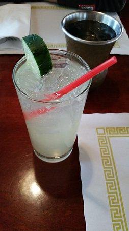 West Hartford, CT: Cucumber and Elderflower Cocktail
