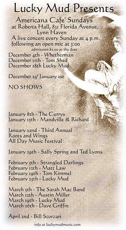 Lynn Haven, FL: Our Winter 2016 Schedule