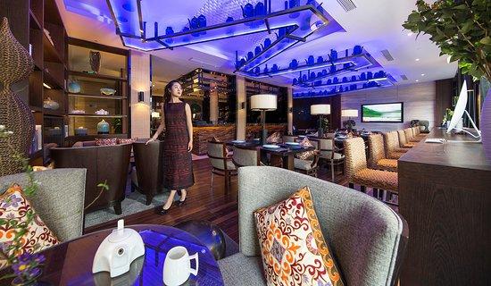 SSAW Boutique Hotel Shanghai North Bund: Hotel Bar/Lounge
