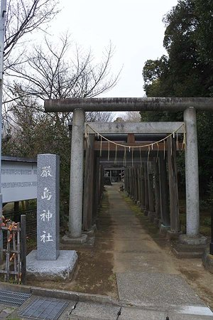 Chiba, Japan: 鳥居が見事