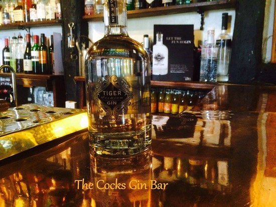 Stottesdon, UK: The Cocks Gin Bar