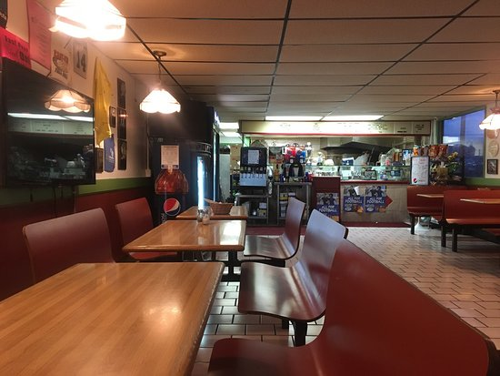 Best Of Pizza Shop Interior