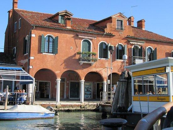 Lido di Venezia, Italy: embarcadero de llegada a Murano desde Venecia