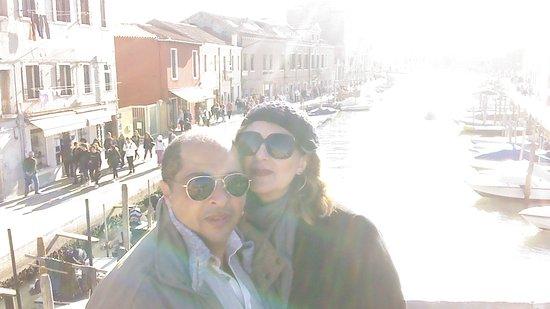Lido di Venezia, Italy: zona de restaurantes