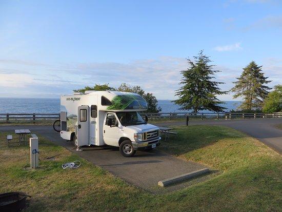 Port Angeles, WA: Our campsite