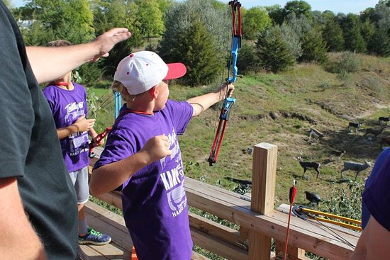 Yankton, SD: A 3D platform range that excites archers big and small