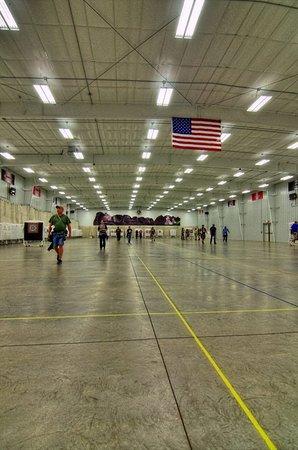 Yankton, SD: Beautiful 90m indoor range is every archer's dream.