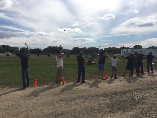 Yankton, SD: Archery Bowbirds is some of the most fun you'll have in archery.