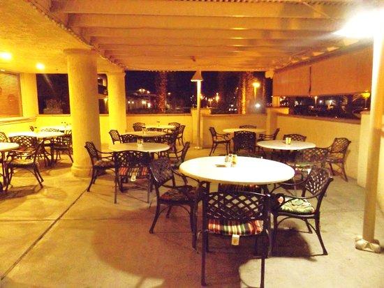 olive garden patio for the warmer nights - Olive Garden Palm Desert