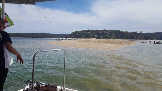 Cronulla, Australia: Sandbank near Bundeena