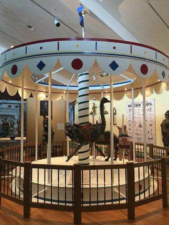 Abby Aldrich Rockefeller Folk Art Museum: Carousel